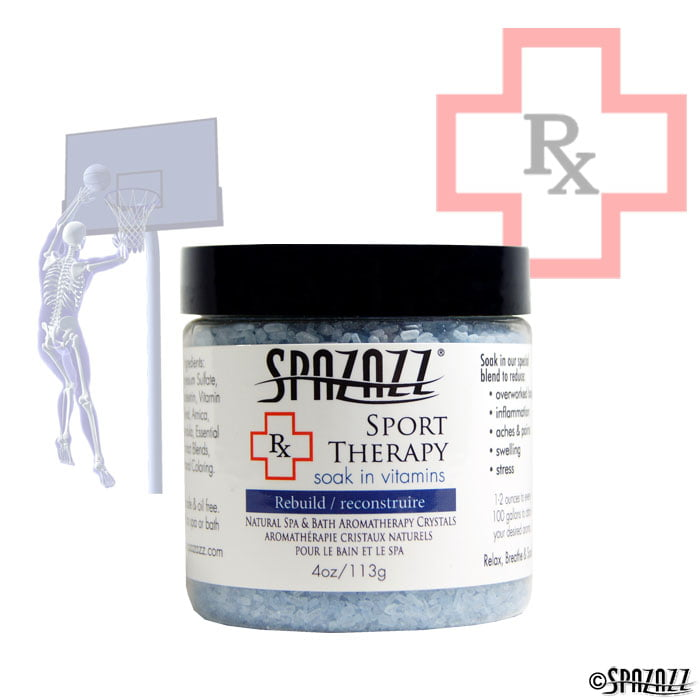 Spazazz RX Therapy Sports Therapy (Rebuild) Crystals