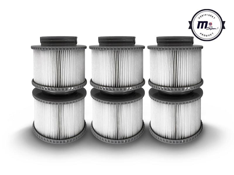 6 stk filter